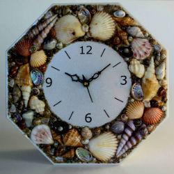 Настенные часы своими руками фото